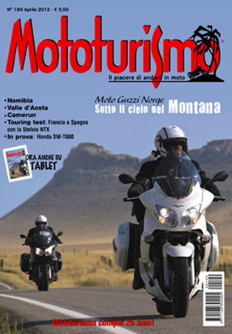 MOTOTURISMO 199 - Aprile 2012