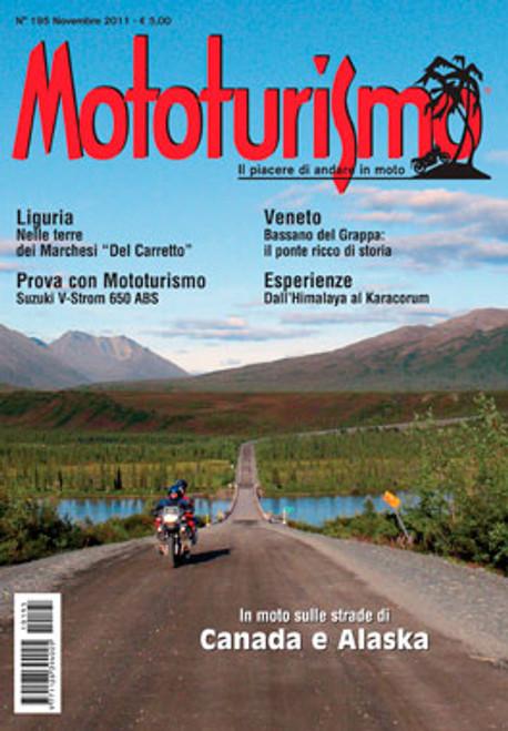 MOTOTURISMO 195 - Novembre 2011