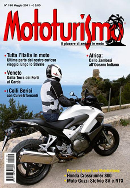 MOTOTURISMO 190 - Maggio 2011