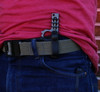 Wise Guy Carriers can be used to carry your Wise Guy IWB (inside the waist band as shown here) or scout style.