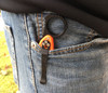 Signet Ring on Spyderco Delica in the pocket.