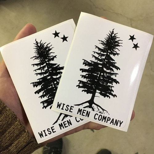 Wise Men Company Stickers