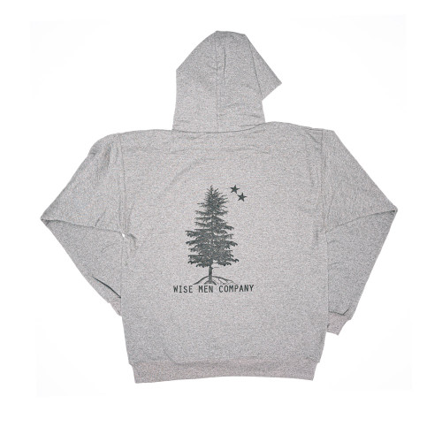 Back of the hoodie