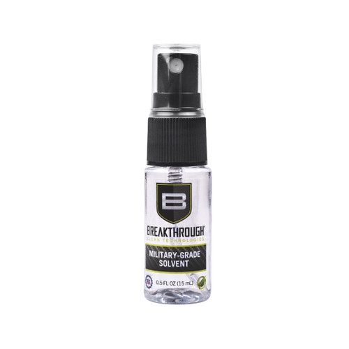 Breakthrough Military Grade Solvent 15mL Spray bottle