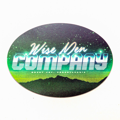 80's Retro Wise Men Company Sticker