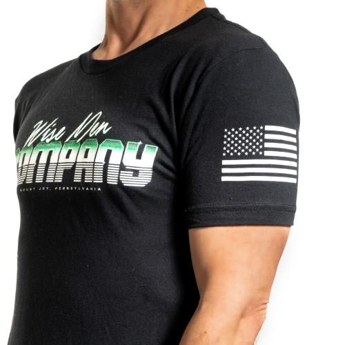 Flag on left sleeve