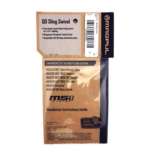Magpul QD Swivel Packaging Back