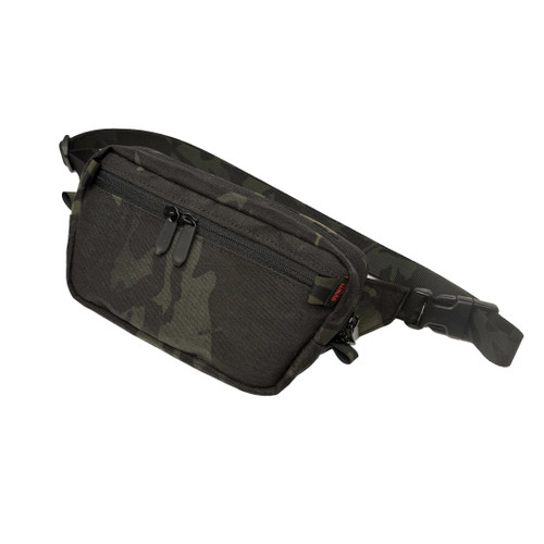 HulaPack wasit pack in MultiCam Black V50 X-pac laminate