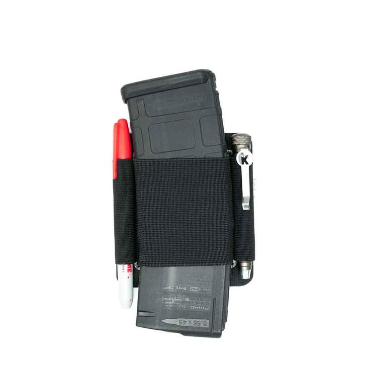 Black PIMP 1 Slot AR Mag carrier loaded