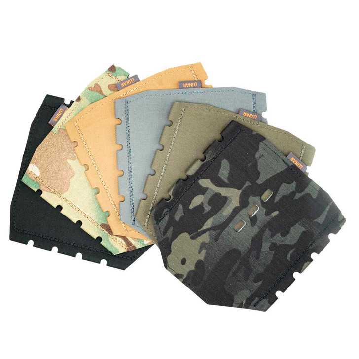HotPocket SD (colors from left to right) Black, MultiCam, Coyote, Wolf Gray, Ranger Green, MultiCam Black
