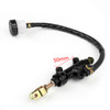 Rear Brake Master Cylinder Pump For Kawasaki ER250 Z250 Z300 ER400 ER500 EX250, Black