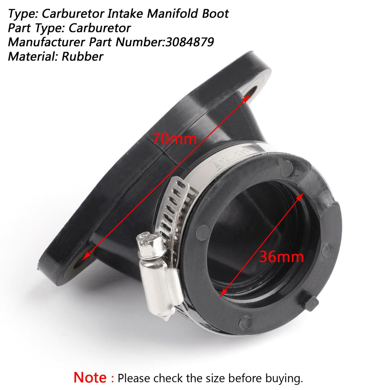 Throttle Body Intake Manifold Boot For Polaris Sportsman 450 06-07 335 400  500