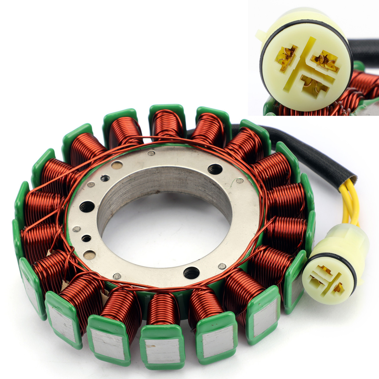 Outboard Stator Battery Charging Coil 18 Poles For Suzuki DF60 DF70  1998-2009