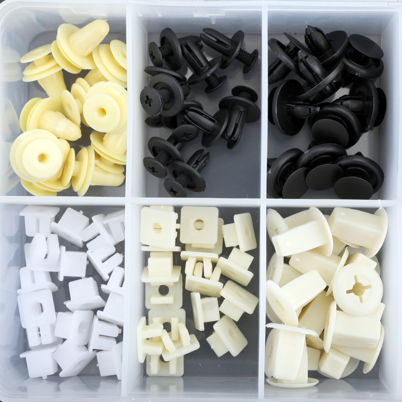 435 Pcs Hood Door Lock Rod Fender Liner Clip Nut Retainer Assortment For Toyota