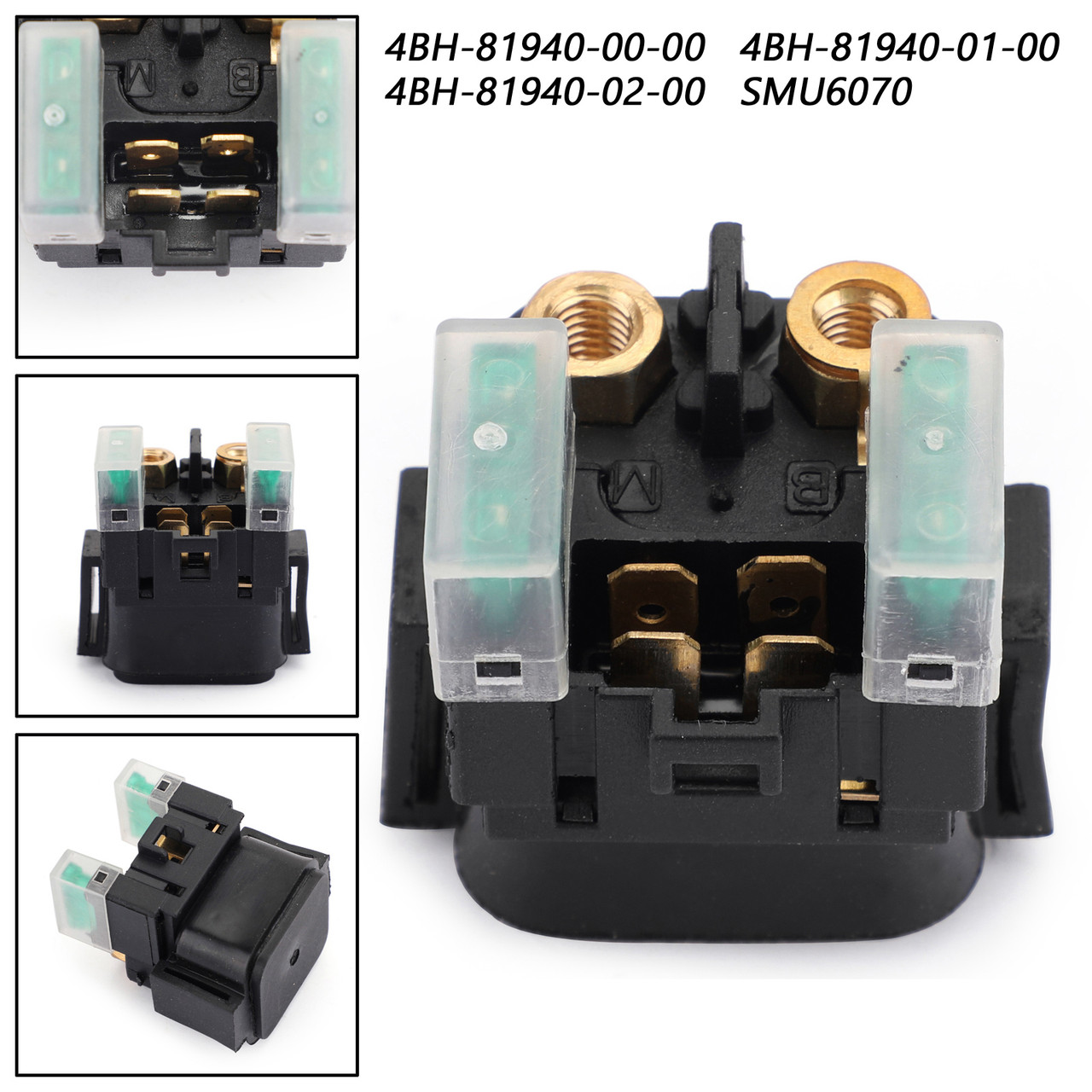 Starter Relay Solenoid For Yamaha 4BH-81940-00-00 1D0-81940-02-00 ATV Part