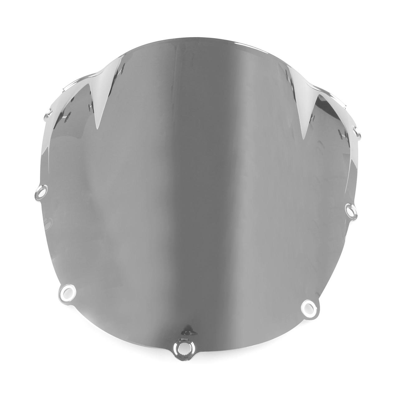 Windshield WindScreen Double Bubble For Kawasaki ZX14R ZZR1400 2006-2015 Iridium