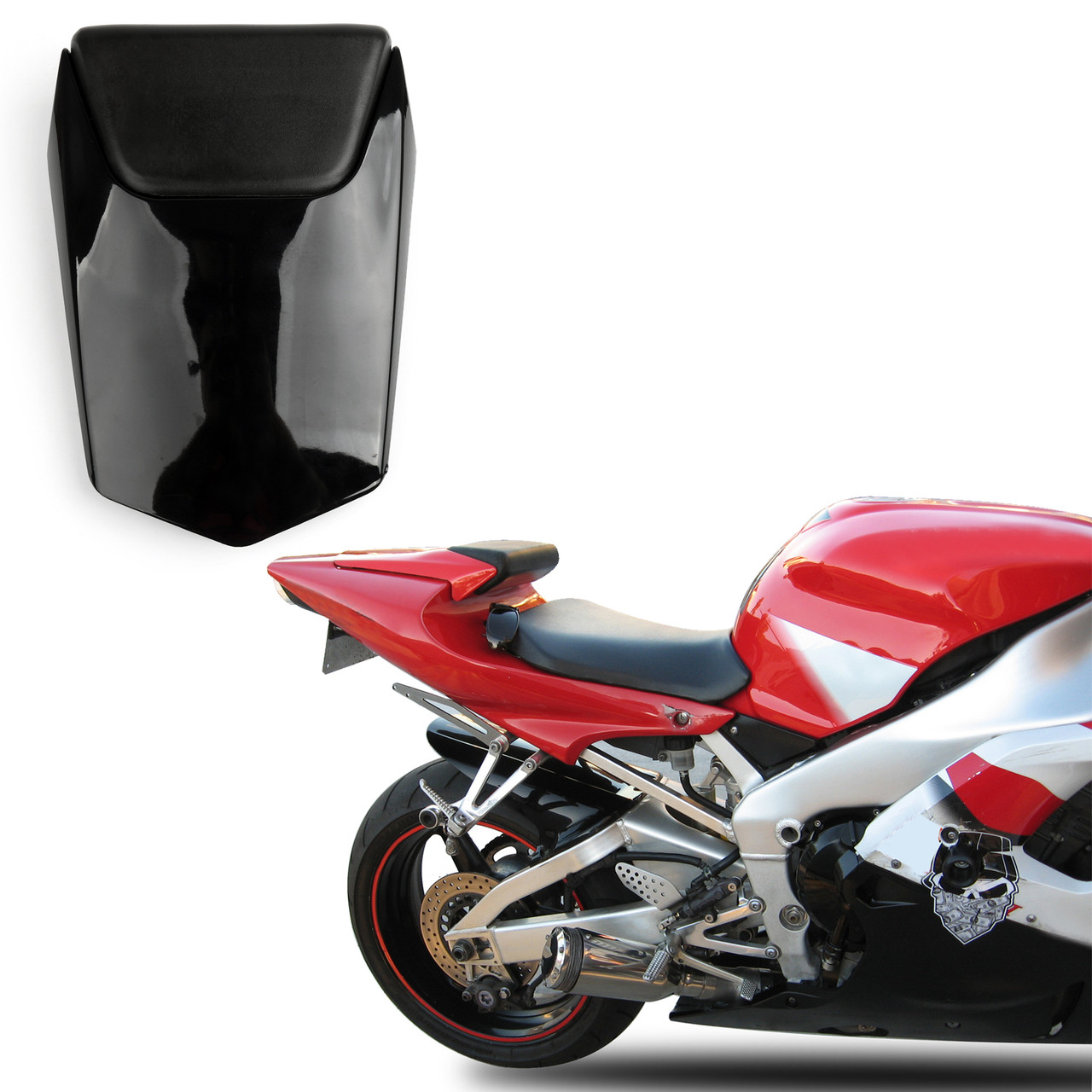 Black Rear Seat Fairing Cover Cowl For Yamaha YZF R6 2003-2005