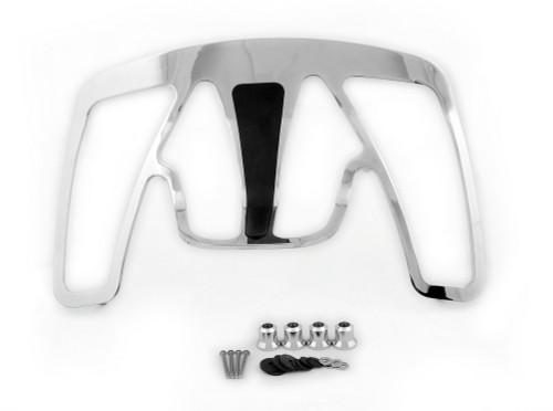 Trunk Luggage Rack & Riser Honda GoldWing GL1800 Chrome 2001-Newer