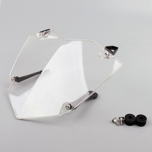 Front Headlight Guard Cover Lens Protector For BMW R1200GS WC (13-17) ADV WC (14-17) Clear