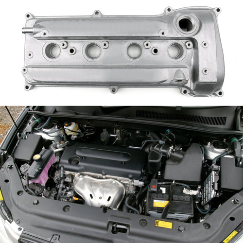 Engine Valve Cover For Toyota Camry 11201-28014 Harrier RAV4 2.4L 2AZ 2AZFE, Silver