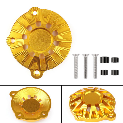 CNC Aluminum Engine Stator Cover Guard Protector For Kawasaki Z900 (2017) Gold