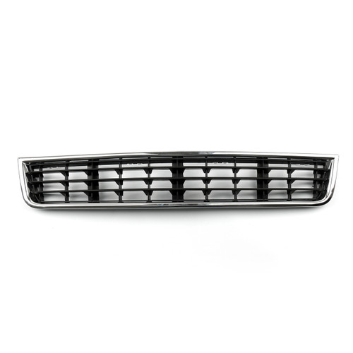 Front Bumper Center Lower Grille Grill Mesh Audi A4 B6 Sedan (2002-2005) Black