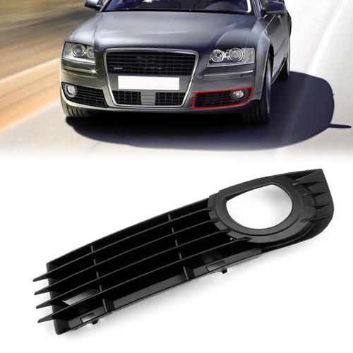 Front Left Lower Fog Light Bumper Grill Pair for Audi A8 Quattro 06 07 08 4.2L 6.0L