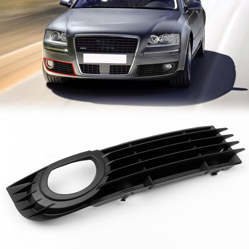 Front Right Lower Fog Light Bumper Grill  for Audi A8 Quattro 06 07 08 4.2L 6.0L