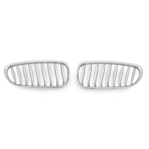 Front Bumper Sport Kidney Grille Grill For BMW Z4 E85 E86 (2003-2008), Chrome