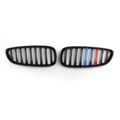 2Pcs Front Kidney Grille Grill For BMW Z4 E89 (2009-2016) Matte Black