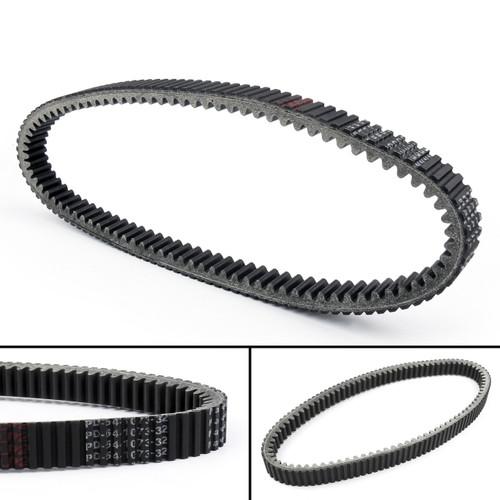 Drive Belt 59011-1053  For Kawasaki KAF620 Mule 3010 4X4 E1-E8, Advanrage Classic, Trans 4X4, Hardwoods Green HD (05-08) 3020 Turf (01-03) 3000 G1-G8 (01-08) Black