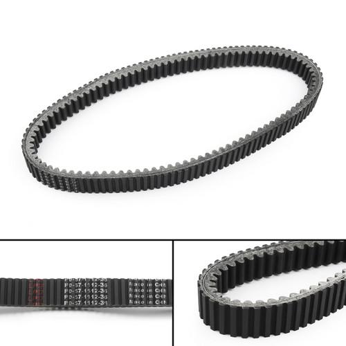 Drive Belt 59011-0037 For Kawasaki KAF820 Mule PRO-FXT EPS Camo, EPS LE (15-18) Ranch Edition, PRO-DX EPS LE(16-18) Black