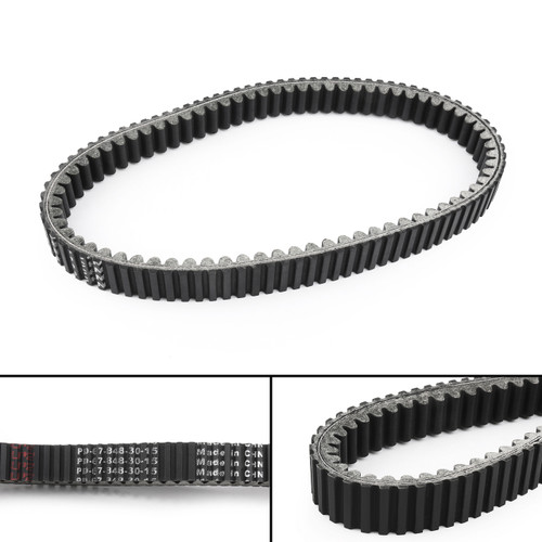Drive Belt For Suzuki Twin Peaks 700 (04-06) Black