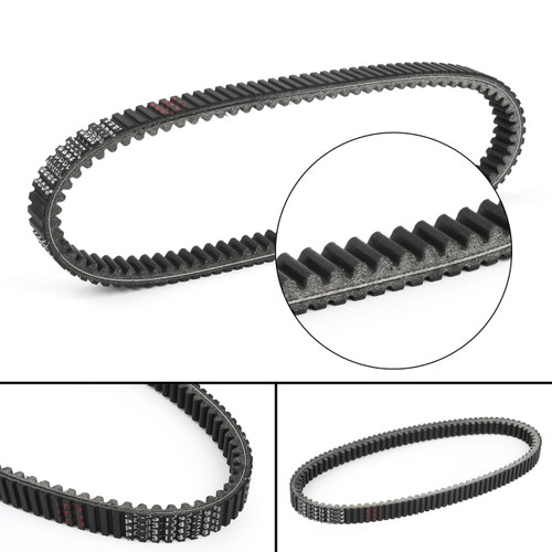 Drive Belt For Peugeot Geopolis 400 ABS Urban 400, Peugeot Satelis 400 500 ABS RS, Geopolis 500 Premium 500, Black