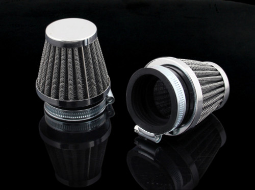 Air Filter 38-40mm 2PCS Honda CB750k Kawasaki KZ Suzuki GS550