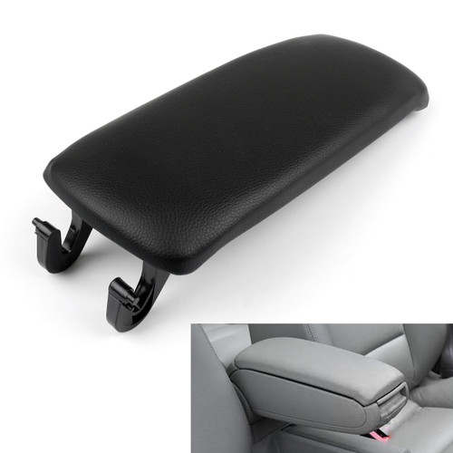 PU Leather Center Console Armrest Cover Lid Audi A4 B6 S4 A6 (2001-2006) Black