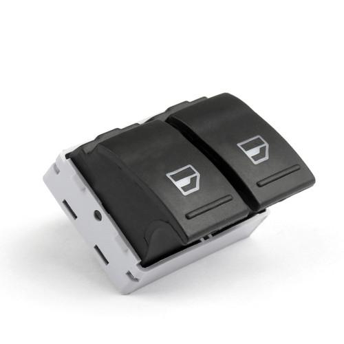 Driver Side Power Window Control Switch for Volkswagen VW Transporter T5 T6, Black