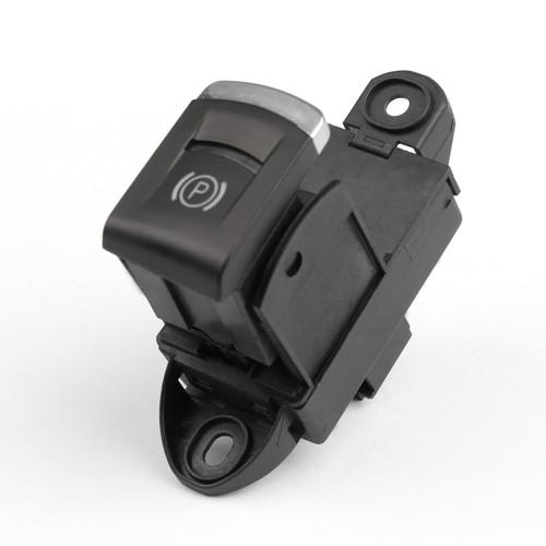 OEM Parking Handbrake Switch Brake Button for Audi A6 L2.4 (2006-2008) 4F1927225C Black