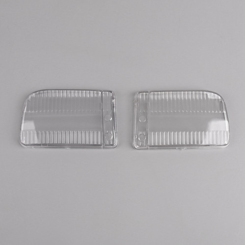 Front Bumper Fog Lights Clear Plastic Lens for BMW E30 318i 318is (1982-1991) Clear