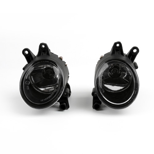 Pair Front Left & Right Halogen Fog Light Fog Lamp For Audi A4 S4 B7 B6 RS4, Clear