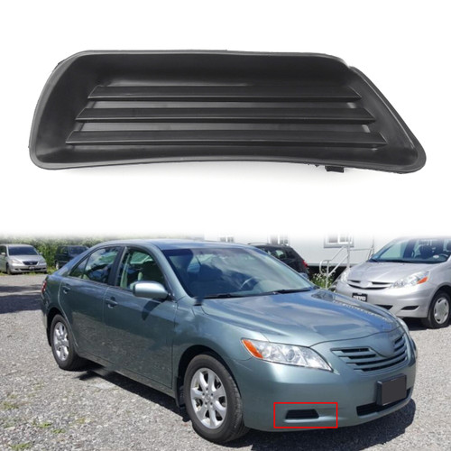 1PC Fog Lamp light Cover Right Side W/O FOG Lamp For TOYOTA CAMRY (07-09)