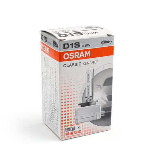 OEM OSRAM Xenarc D1S 66144 Original 4300K HID Xenon Headlight Bulb Lamp