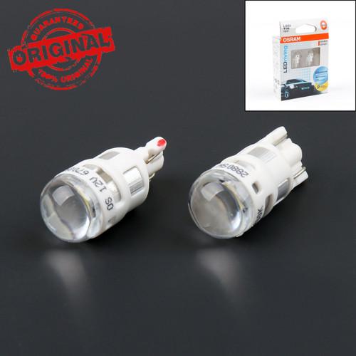 Auto Car Width Lamp T10 Led Light 12V 6700K Osram Led Riving 2Pcs Sky White Bulb