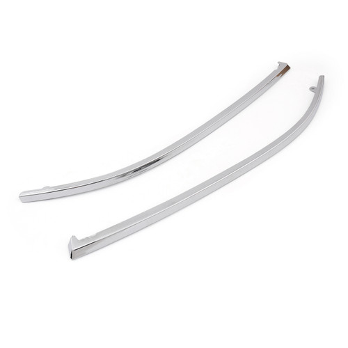 1Pair Front Bumper Molding Trim PAIR For AUDI A6 C5 (1998-2002) Chrome
