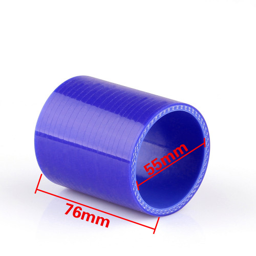 Straight 0 Degree 76mm 76mm Silicone Pipe Hose Coupler