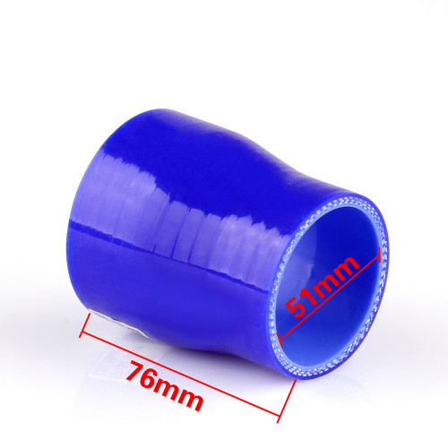 Reducers 0 Degree 51mm 70mm Silicone Pipe Hose Coupler Intercooler Turbo Intake