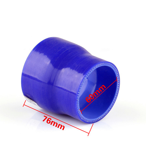 Reducers 0 Degree 60mm 76mm Silicone Pipe Hose Coupler Intercooler Turbo Intake