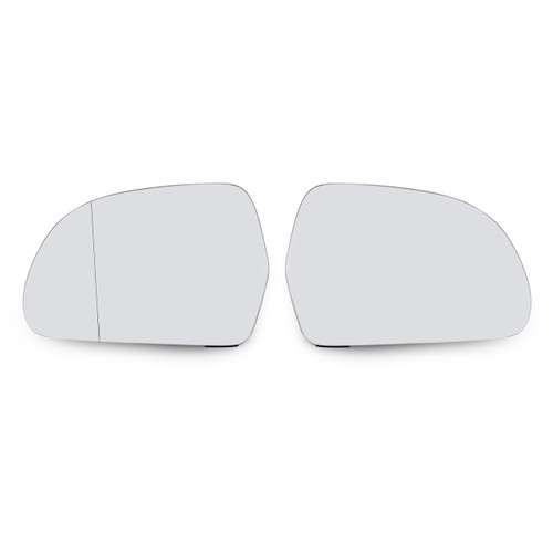 Rearview Mirror Glass Heated For Audi A6 Allroad (07-11) A8 S8 (08-10) Q3 (12-16) OCTAVIA (09-13) SUPERB (08-13) Right Left Set