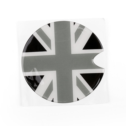 Union Jack UK Flag Pattern Vinyl Sticker Decal for Mini Cooper Gas Cap Cover