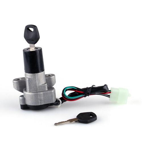 Ignition Switch Lock Keys Suzuki GSF 250 400 Inazuma OEM Style